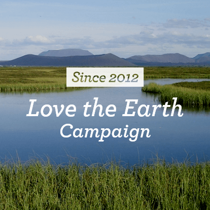 Sience 2012 Love the Earth Campaign